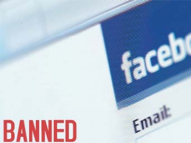 Approximately 4.5 million Facebook users in Pakistan were unable to use the social networking site for several days last year after a ban was placed on the website. PHOTO: FILE