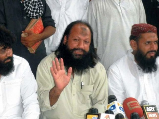 Ishaq was earlier placed under house arrest for 10 days; police shift him to jail in Rahim Yar Khan. PHOTO: EXPRESS/FILE