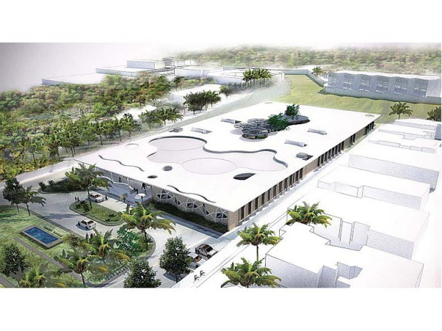William McDonough + Partners will design the Karachi School of Business and Leadership. The plans include two campuses. PHOTO COURTESY: WILLIAM MCDONOUGH + PARTNERS