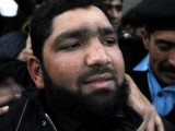 Qadri, one of Taseer's elite force guards, shot and killed the governor for his views on the blasphemy law outside a restaurant in Islamabad. PHOTO: AFP
