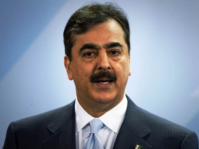 Gilani lays out mechanism for negotiations with Taliban and other militant groups. PHOTO: AFP/FILE
