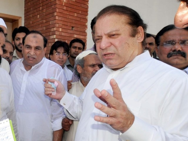 Sharif said that the government of Punjab was the only one working for the people of Pakistan. PHOTO: PPI