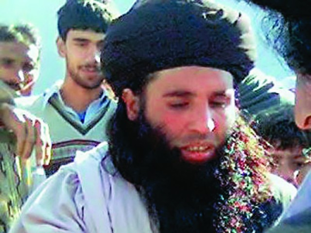 Pakistan repeatedly urged Afghanistan and US-led forces to go after notorious Taliban cleric Maulvi Fazlullah. PHOTO: EXPRESS/FILE