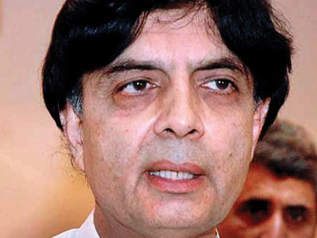Nisar says the appointment of NAB chief cannot be done without meaningful consultation with the opposition leader.