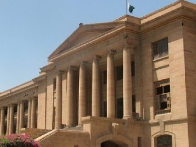 An SHC bench comprising Chief Justice Mushir Alam and Justice Ahmed Ali M Sheikh heard the petition and put the Sindh education minister, education secretary, other officials and the alleged land grabbers on notice for a hearing scheduled for Wednesday. PHOTO: EXPRESS