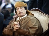 Libyan leader Muammar Gaddafi attends a ceremony marking the birth of Islam's Prophet Mohammed in Tripoli in this February 13, 2011 file photograph. PHOTO: REUTERS/FILE