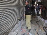 Nearby shops were also damaged in the explosion.. PHOTO: REUTERS/FILE