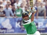 Abdul Razzaq's whirlwind half-century earned him the man-of-the-match award. PHOTO: AFP
