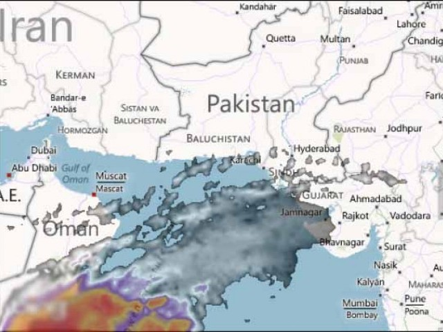 Chief Meteorologist Naeem Shah says rain will hit Karachi and other flood-hit areas of the province. MAP: THE WEATHER CHANNEL