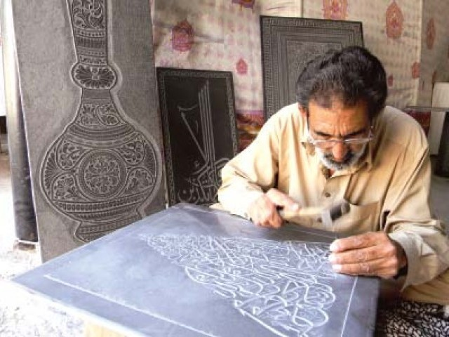 "A craftsman at work at the  culture festival spotlighting Potohar at Lok Virsa. ""Research has consistently shown that entry barriers such as lengthy registration requirements, licensing and inspection requirement and complicated taxation policy are the key reasons for people remaining in the informal sector,"" CIPE Washington Regional Director Andrew Wilson said. PHOTOS: INP/PRESS RELEASE"