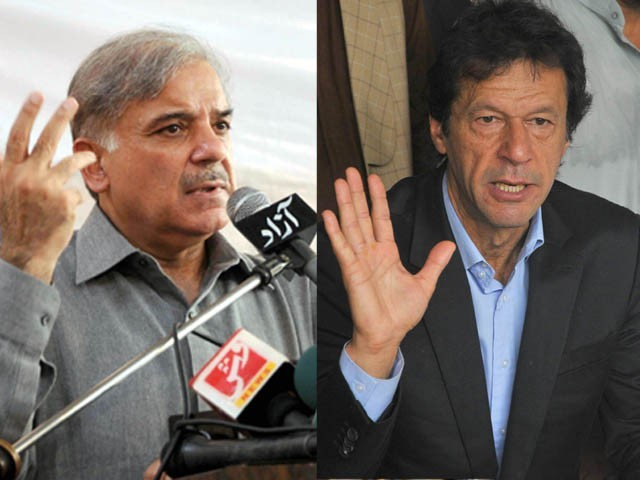 Provincial agencies pronounce PML-N the winner, federal officials say PTI had the bigger crowd.  PHOTO: EXPRESS/FILE
