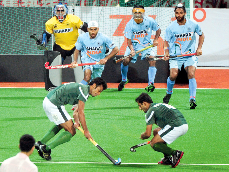 Hockey: Pakistan hold India, through to final | The Express