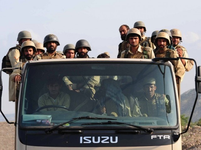 YP says deployment of troops in Parachinar against human rights. PHOTO: AFP