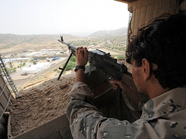 The security forces destroyed the house of a Militant Commander Sher Wali from the Lashkar-i-Islam. PHOTO: AFP/ FILE