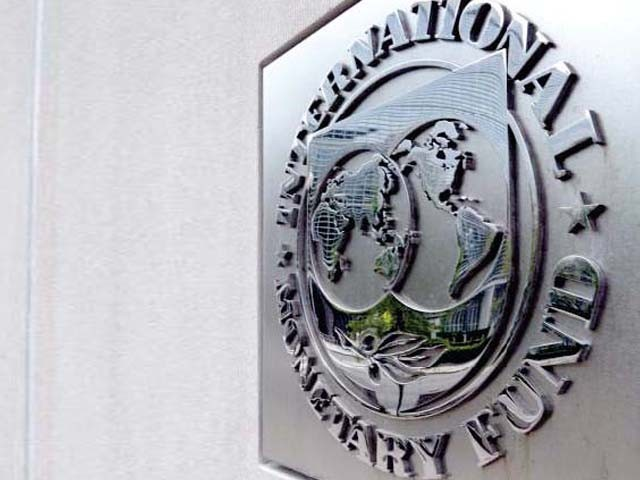 Pakistani delegation met with IMF officials in Dubai. PHOTO: FILE