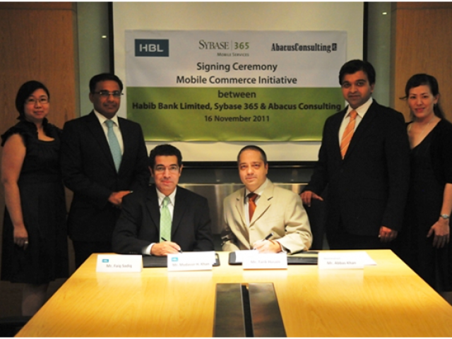 HBL's debut in branchless banking business will create competition in the market. PHOTO: PROPAKISTANI