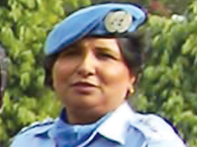 DSP Shehzadi Gulfam becomes the first woman to win the UN award.