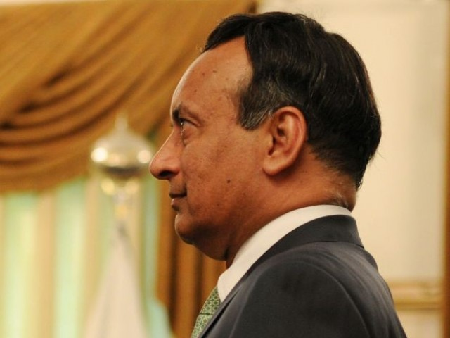 Haqqani to be rushed to presidency upon arrival. PHOTO: AFP/ FILE