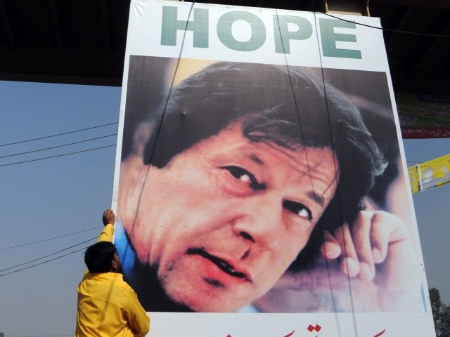 Army, PTI deny meeting; Tehreek-i-Insaf blames it on PML-N's 'Imranophobia'.  PHOTO: AFP/ FILE