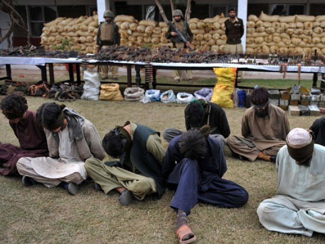 ISPR spokesperson says negotiations with terrorist outfits are undertaken by government, not military. PHOTO: AFP/FILE
