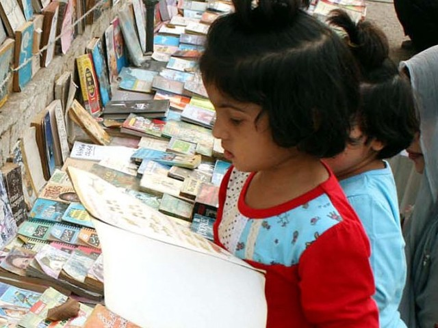 Saiyid said the event strived to inculcate the habit of reading in children. PHOTO: PPI