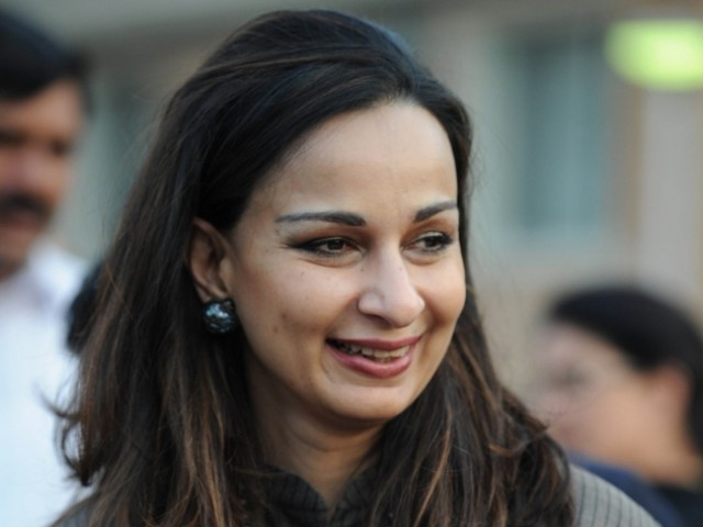Sherry Rehman, Pakistan's new ambassador to the US, smiles after talking to media representatives in Islamabad on November 23, 2011. PHOTO: AFP