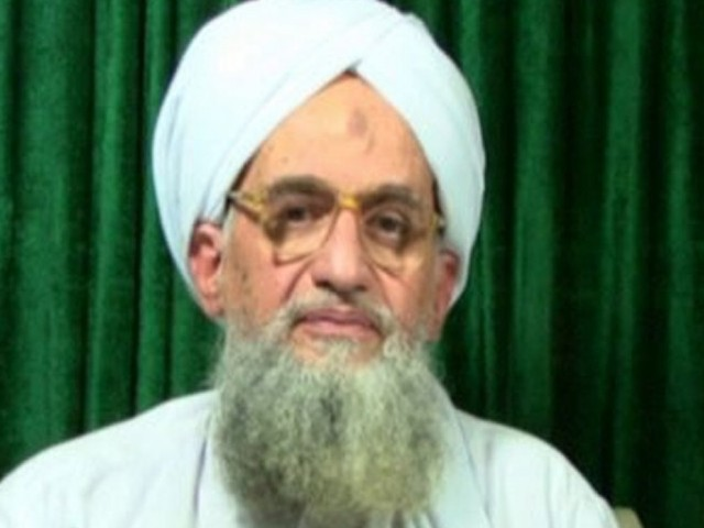 Zawahiri said in a video message sent to jihadist forums that al Qaeda had on August 13 abducted elderly USAID contractor Warren Weinstein. PHOTO: AFP/SITE