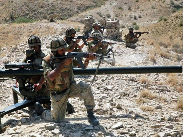 Offici­al says steps taken to avert air incurs­ions from Afghan­istan and to respon­d to any future air strikes. PHOTO: AFP/ FILE