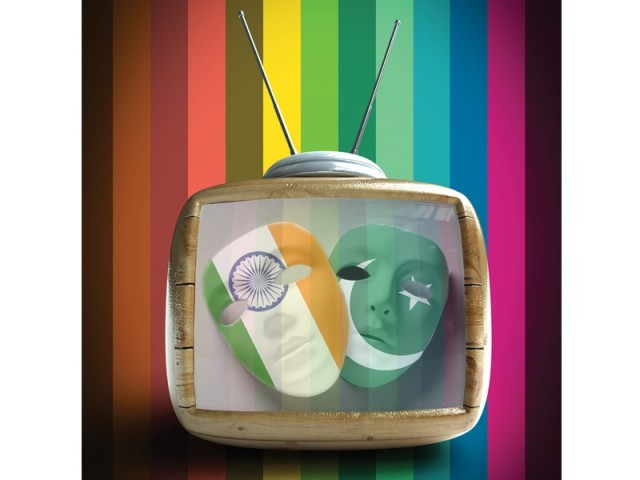 Evolution of the Pakistani and Indian television industries. GRAPHIC: JAMAL KHURSHID