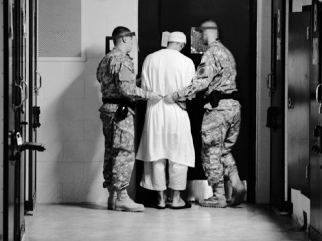 The report states that there are currently 171 detainees at Guantanamo.. PHOTO: DoD