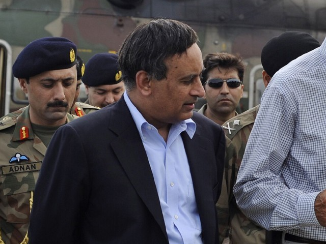Hussain Haqqani is set to face a tough grilling session  PHOTO: AFP/FILE