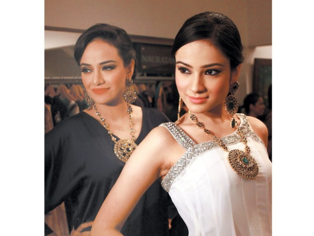 Models adorned in Sonar's intricate jewellery designs . PHOTO: PUBLICITY