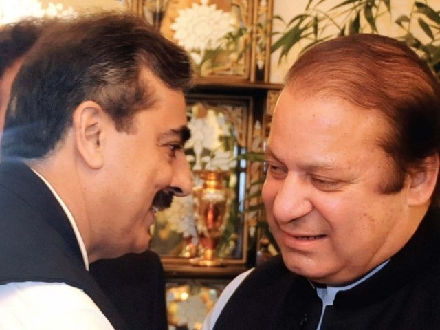 PPP and PML-N leaders said discussions were not focused on forging a formal electoral alliance, but reaching an understanding to support each other's candidates in what they would present to the public as an anti-establishment force. PHOTO: AFP