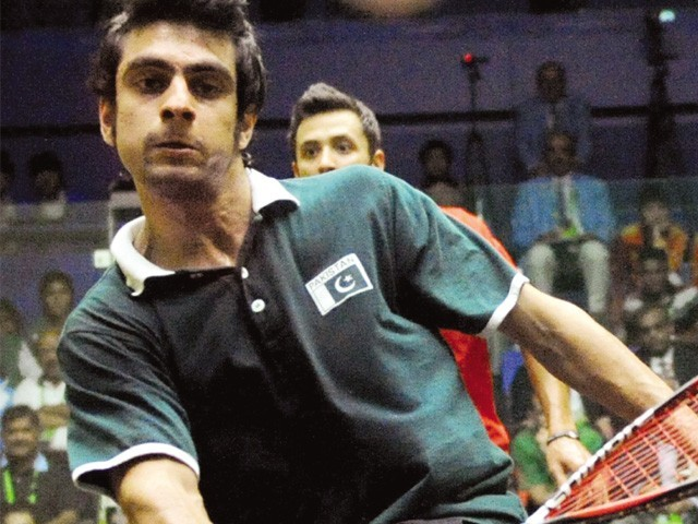 Pakistan's squash number 1 to take on Iqbal for trophy. PHOTO: FILE/AFP