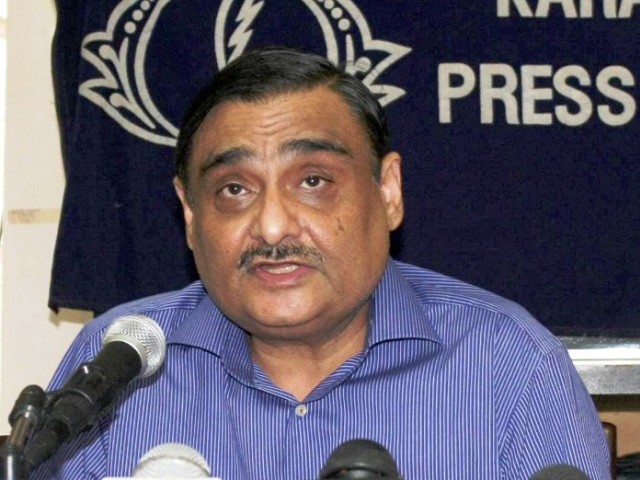 Petroleum and Natural Resources Minister Dr Asim alleges previous govt of exploitation of resources and profiteering. PHOTO: IRFAN ALI/EXPRESS/FILE