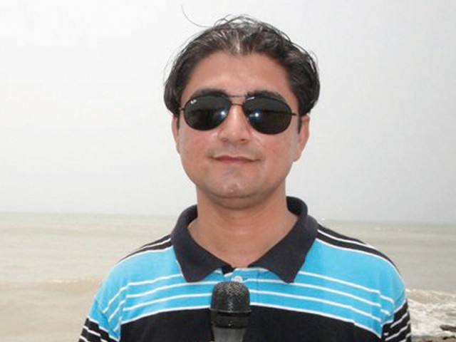 Wali Khan Babar, 29, was shot dead on January 13. PHOTO: FILE