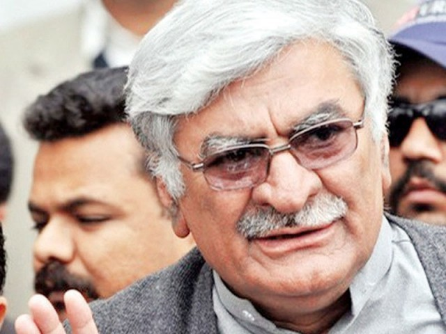 The resolution was moved by PPP's thus far most steadfast ally, Awami National Party (ANP) chief Asfandyar Wali Khan, amid a protest from opposition benches. PHOTO:FILE
