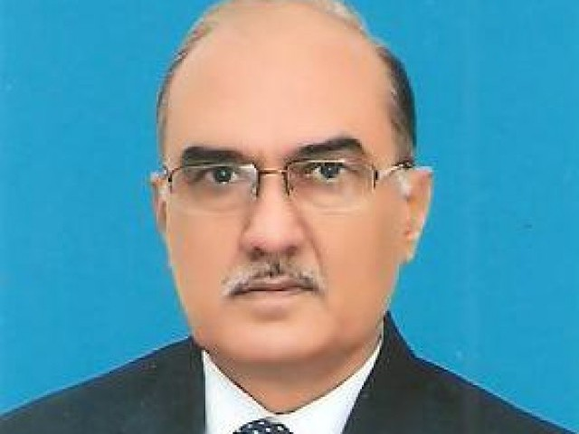 Lt Gen (Retd) Naeem Khalid Lodhi was removed from the post of Defence Secretary by Prime minister Yousaf Raza Gilani on Wednesday. PHOTO: MINISTRY OF DEFENCE