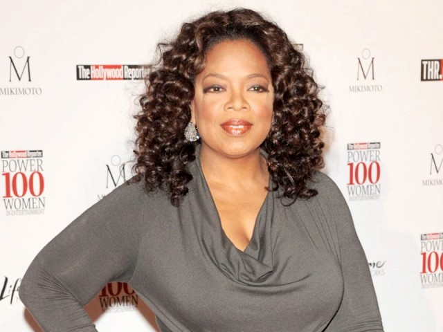 Oprah Winfrey's new show is bringing in high ratings. PHOTO: FILE