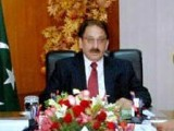 Iftikhar Muhammad Chaudhry assured the people of Karachi and Sindh that the judiciary would not leave them alone. PHOTO: APP