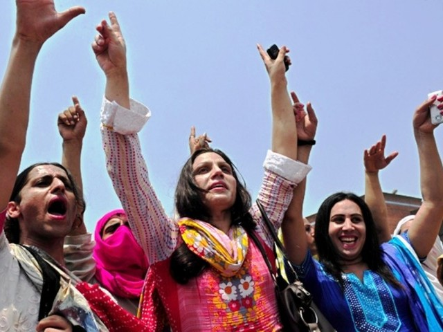 Voter registration and issuance of CNICs of transgenders begin all over Punjab. PHOTO: AFP/FILE