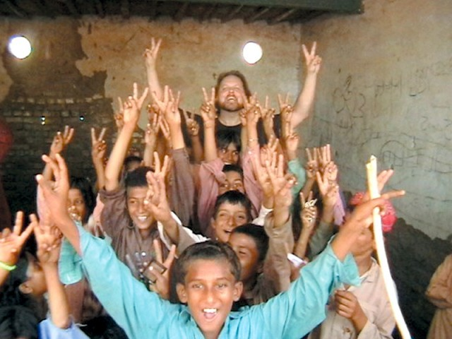 American musician Todd Shea about his humanitarian efforts in Pakistan. PHOTO:PUBLICITY
