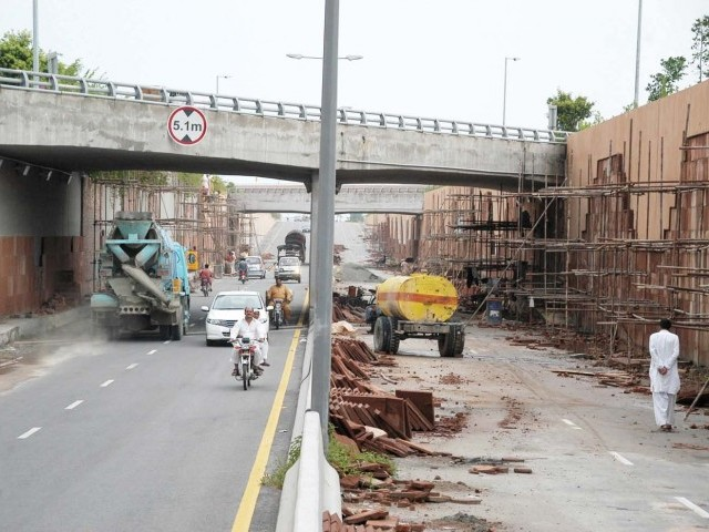 Punjab government lacking financial support as no foreign investor interested. PHOTO: EXPRESS/IJAZ MAHMOOD