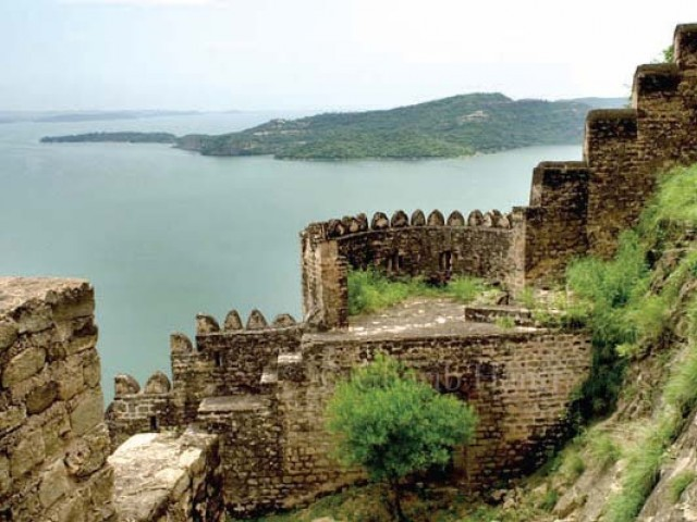 The centuries-old fort has not been maintained. PHOTO: FILE