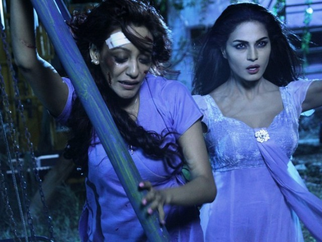 Veena Malik says Pratap's injuries made up for the film shot. PHOTO: SCRIBES INC -THE PR COMPANY