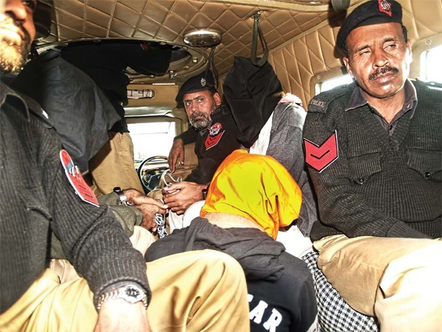 Daud was arrested by the CID earlier this month along with two other men affiliated with the TTP. PHOTO:  EXPRESS/ FILE
