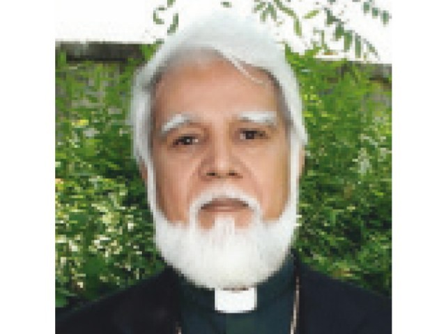 Most Reverend Joseph Coutts, Bishop of Faisalabad. PHOTO COURTESY: PAKISTAN CHRISTIAN TV