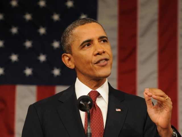 US President Barack Obama admits to US drone strikes in Pakistan territory.  PHOTO: AFP