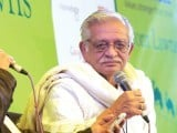 Gulzar. PHOTO: AFP