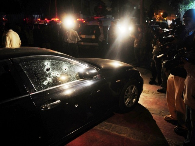 The victims were on their way home after attending a wedding ceremony in Karachi. PHOTO: AFP
